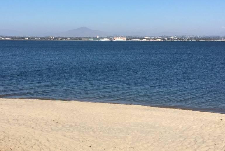 Silver Strand Beach Bayside