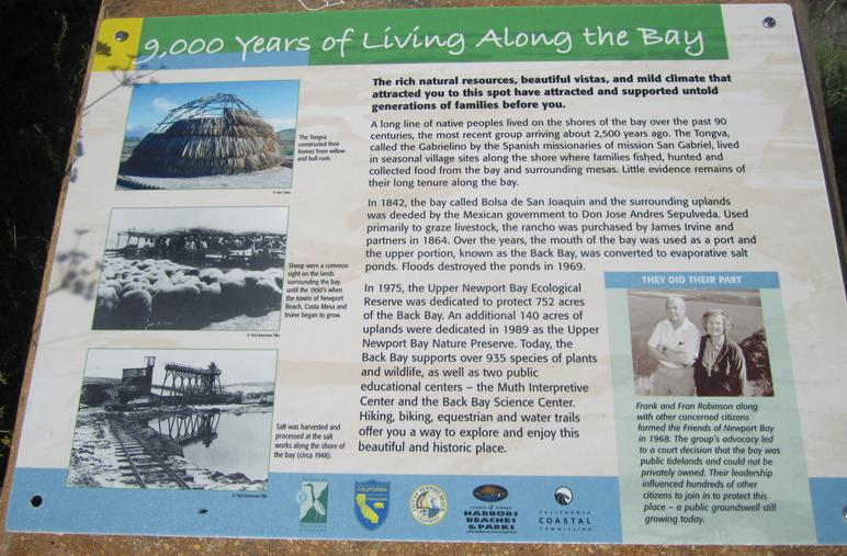 History of Newport Back Bay