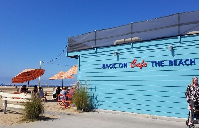 Back On the Beach Cafe Santa Monica