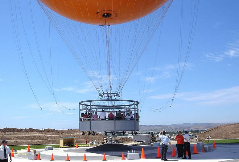 Orange Balloon Irvine 30 Passenger Gondola