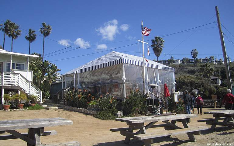 Beachcomber Restaurant Crystal Cove Laguna Beach