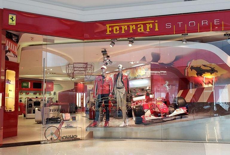 Beverly Center Mall Ferrari Store