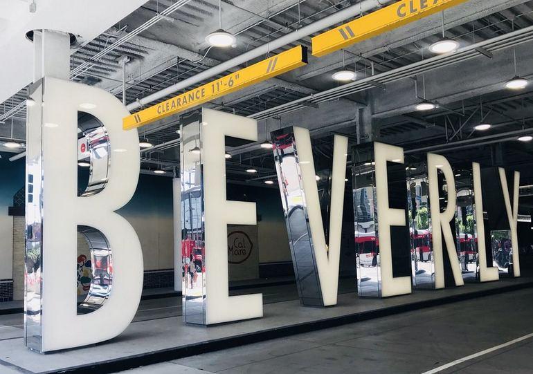 Beverly Center Parking Garage