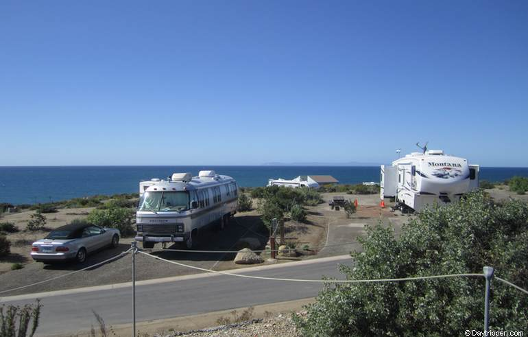 Ocean View Campsites Moro Canyon