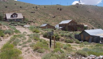 Cerro Gordo Ghost Town High Above the Owens Valley