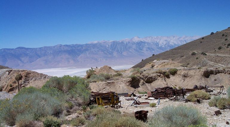 Cerro Gordo Mines