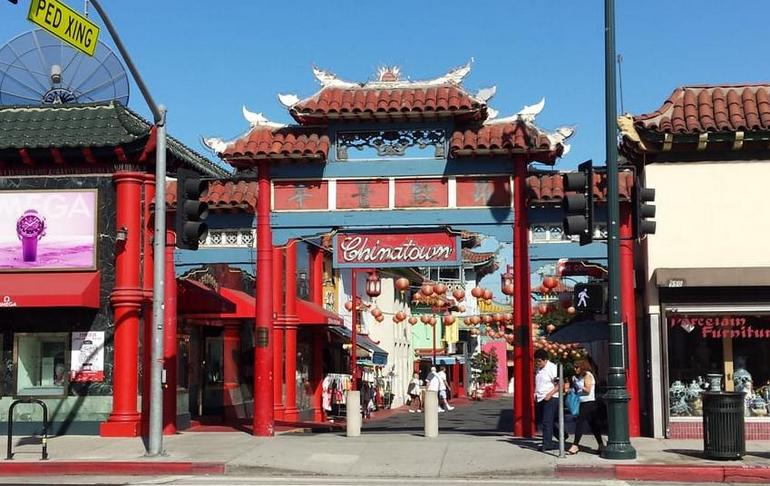 Los Angeles Chinatown Central Plaza