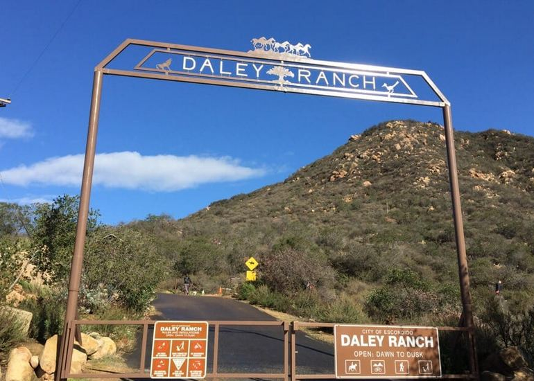 Daley Ranch Entrance