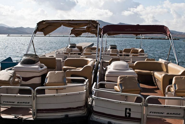 Diamond Valley Lake Pontoon Boats