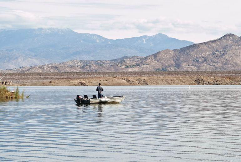 Fishing at Diamond Valley
