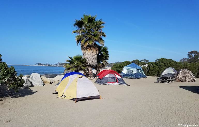 Southern California Beach Camping Labor Day Weekend