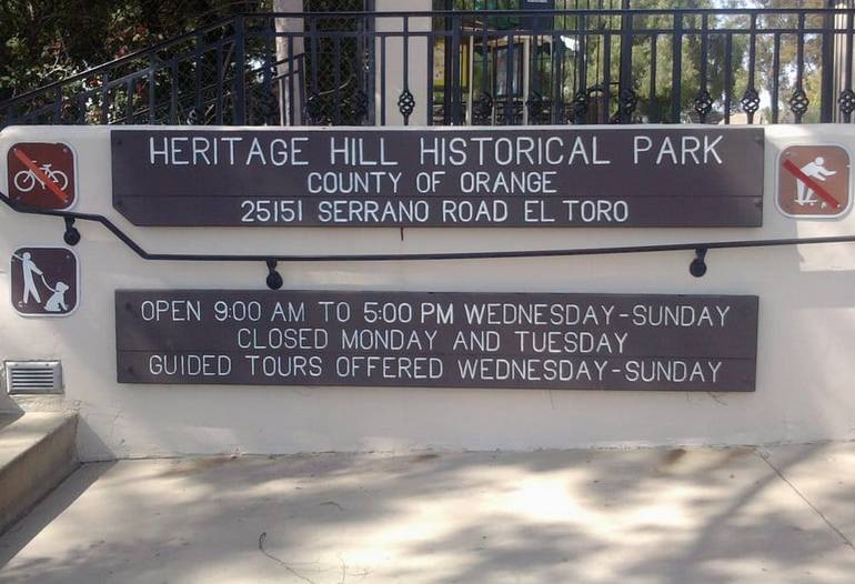 Heritage Hill Historical Park Hours of Operation