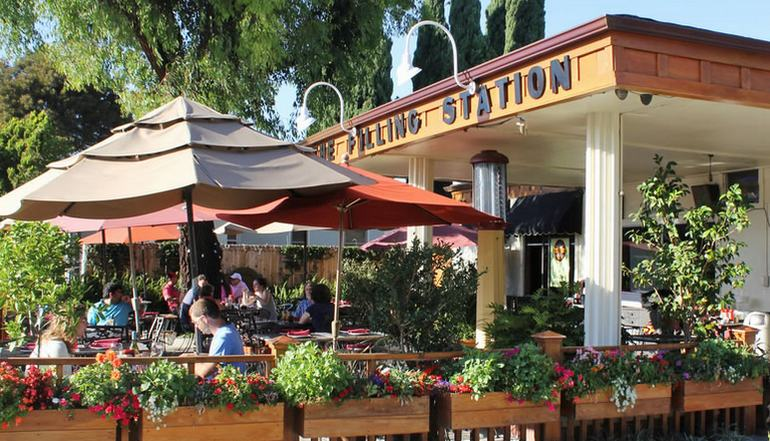 Filling Station Restaurant Orange CA