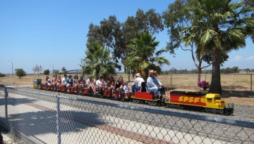 Goat Hill Junction Free Miniature Train Rides Costa Mesa
