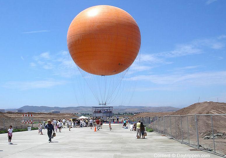 Big Orange Balloon Ride Great Park Irvine