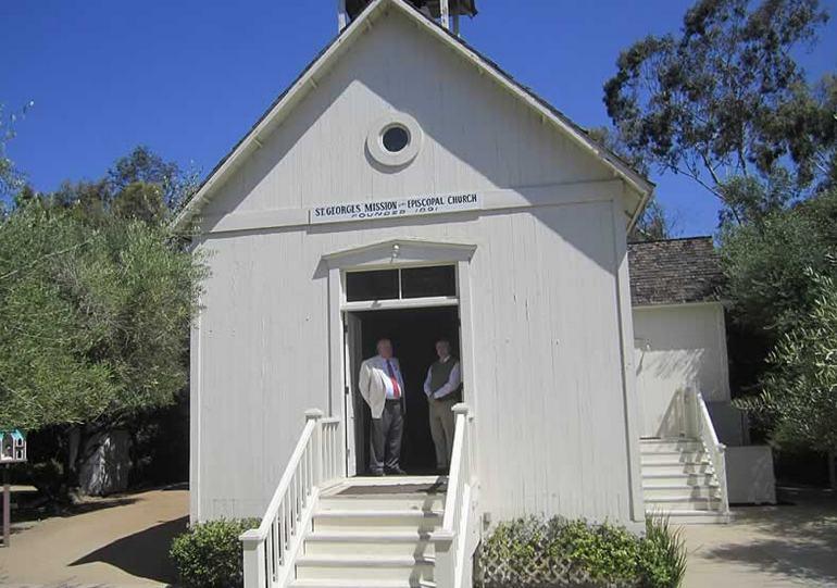 St. George's Episcopal Church El Toro built in 1891