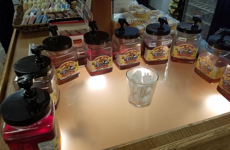 Bennett's Honey Farm Honey Tasting