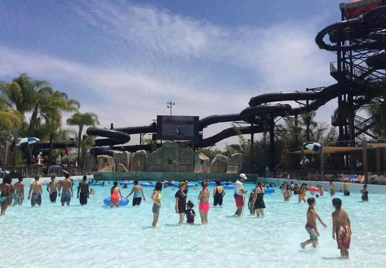 Six Flags Hurricane Harbor Wave Pool