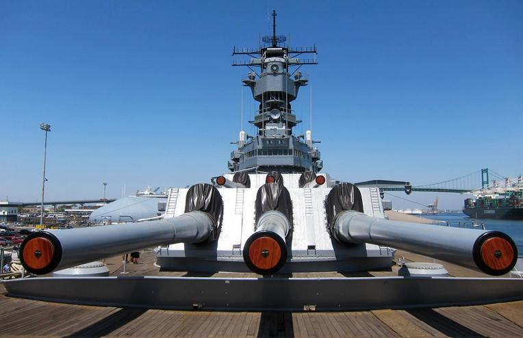 USS Iowa San Pedro