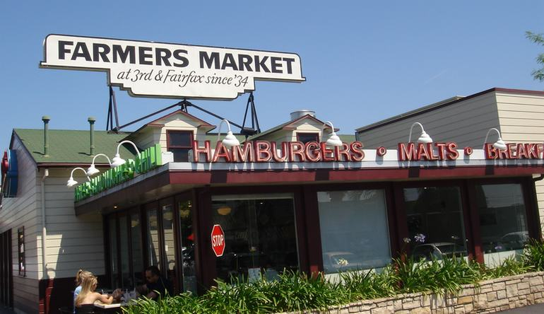 Los Angeles Farmers Market Grover Shopping Center
