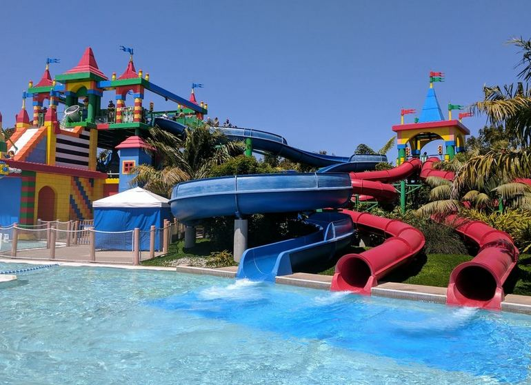 Twin Chasers Slide Legoland Water Park