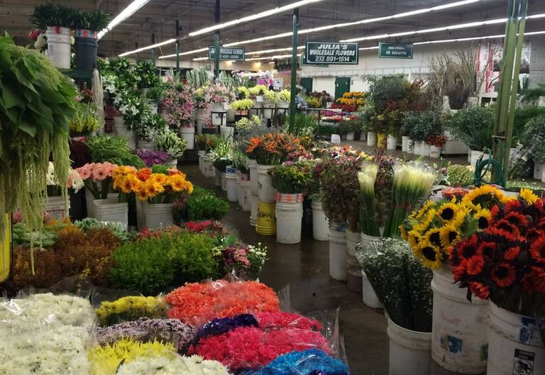 Los Angeles Flower District