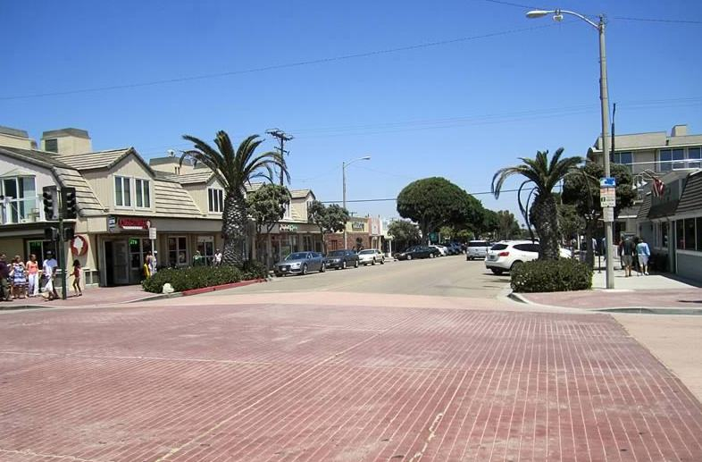 Main Street Seal Beach California