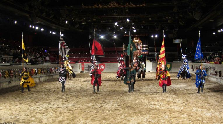 Medieval Times is an exciting dinner attraction for the whole family inspired by the 11th-century world of knights, jousting and majestic revelry/5(K).