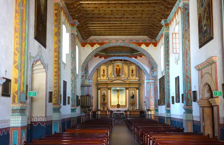 Mission San Luis Rey Oceanside Chapel