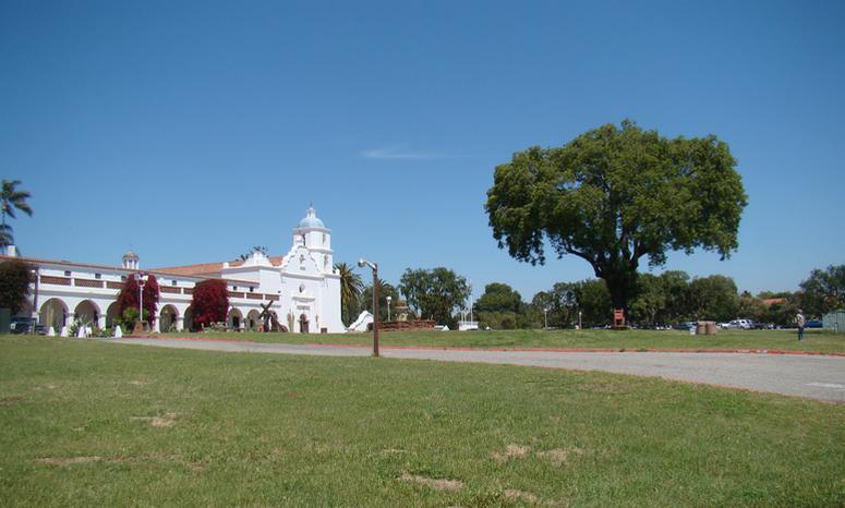 Mission San Luis Rey Peruvian Pepper Tree
