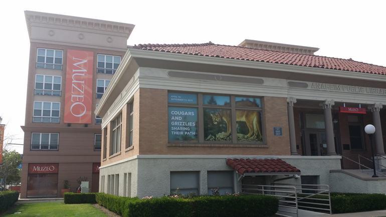 Anaheim's original Carnegie Library
