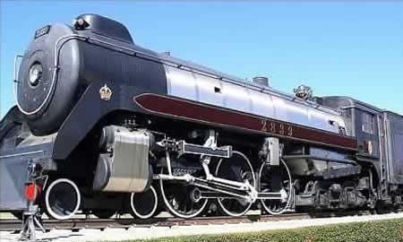 Nethercutt Collection Steam Train