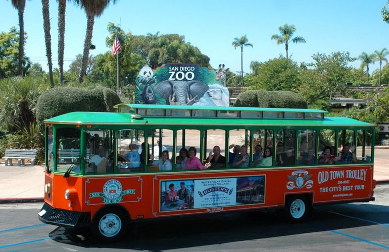 Old Town Trolley San Diego Zoo