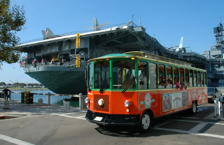 Old Town Trolley USS MIdway
