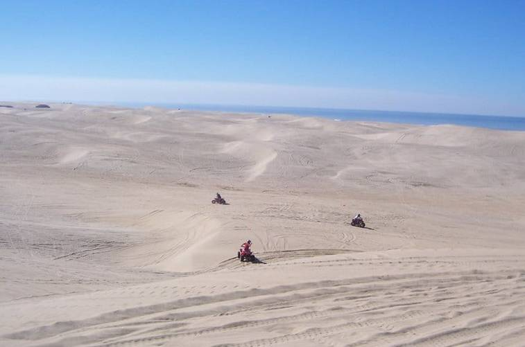 Oceano Dunes California Central Coast