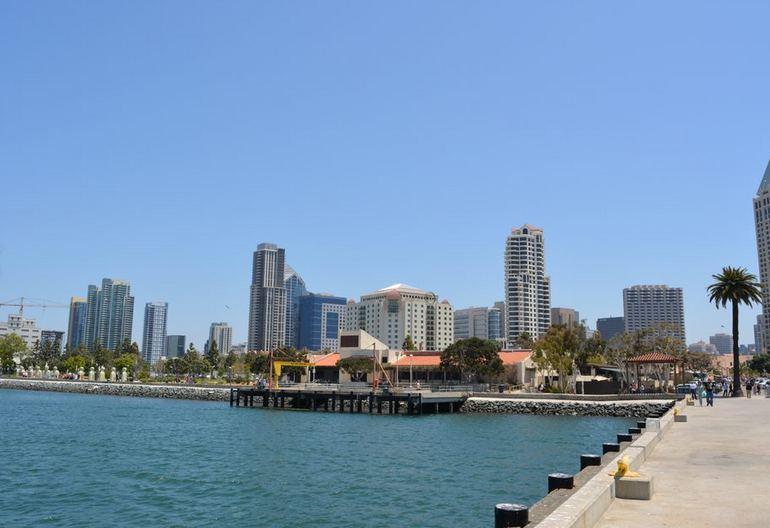 San Diego Bay Embarcadero