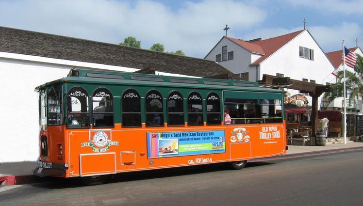Old Town San Diego Trolley
