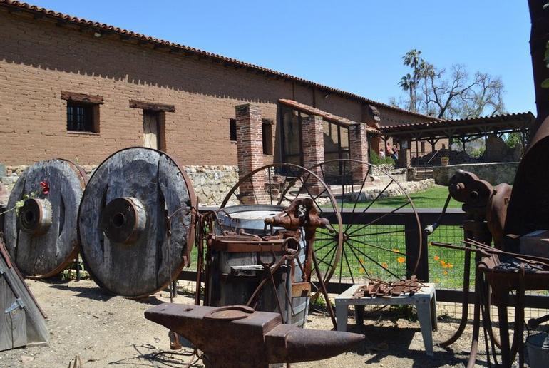 To Mission San Juan Capistrano