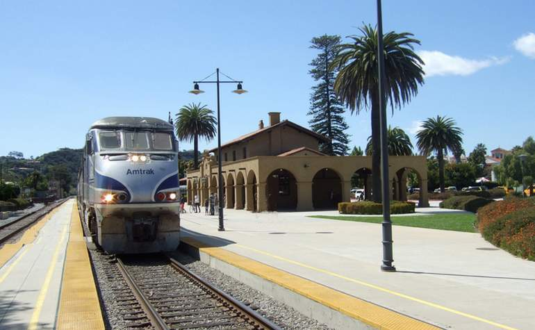 Santa Barbara Amtrak Station