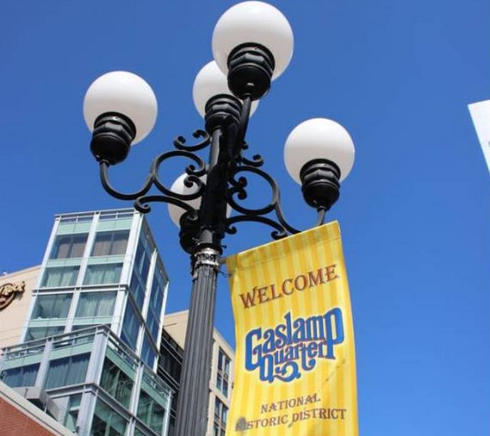 Getting to the Gaslamp Quarter