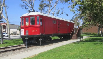 Seal Beach Red Car Museum