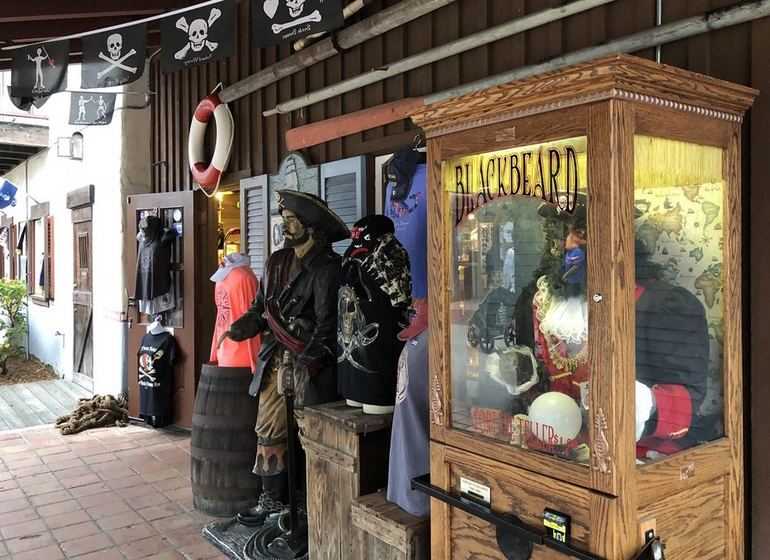 Pirate-Themed Shop Seaport Village