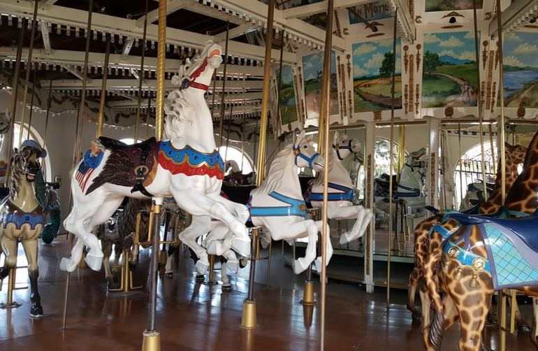Historic Seaport Village Carousel