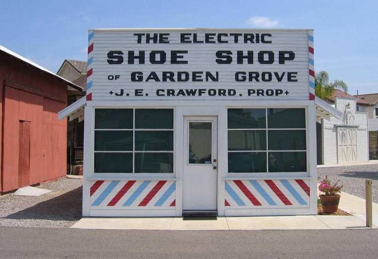 Stanley Ranch Museum Barber - Shoe Shop