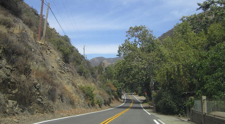 Santiago Canyon Road Trip