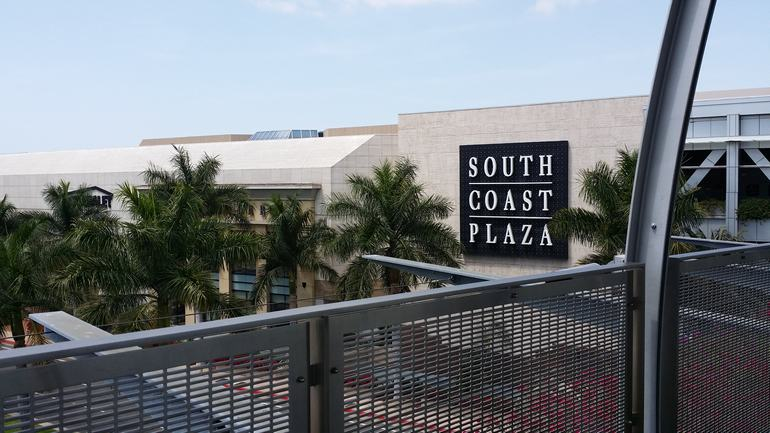 South Coast Plaza Southern California Shopping Malls