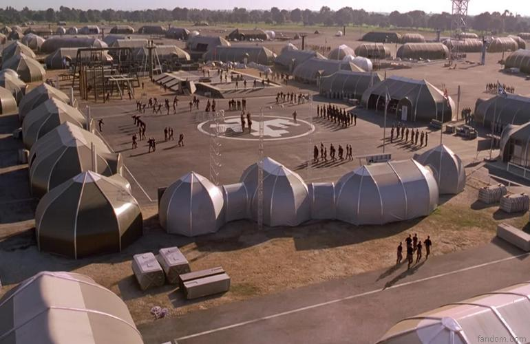 Starship Troopers Boot Camp at Mile Square Park