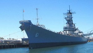 USS Iowa San Pedro Day Trip