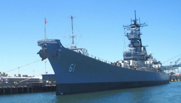 USS Iowa San Pedro Fun Educational Day Trip