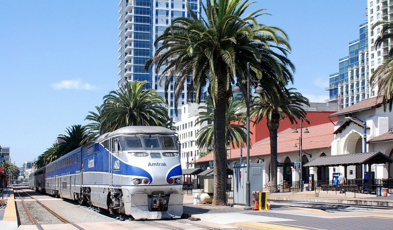 Pacific Surfliner San Diego Station